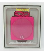 Heyday Pizzazz Wireless Bluetooth Speaker Fuschia Pink - $14.60
