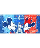 Disneyland Paris Beach Towel 25th Anniversary NEW with Tags - $49.49