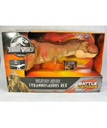 JURASSIC WORLD TYRANNOSAURUS REX BATTLE DAMAGE COLOSSAL DINOSAUR BRAND NEW! - $148.49