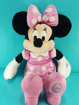 Disney Store Removable Pink Dress Minnie Mouse Soft Plush Stuffed Animal... - $16.82