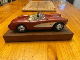 1957 Chevy Corvette Roadster 1:24 Scale Diecast Metal Model Car image 3