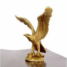 "Brass Statue Eagle Figurine 4.5"" High - $58.46"