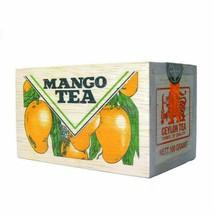 Pure Ceylon tea, Sri Lanka Mlesna Mango flavoured loose black tea 100g - $14.94