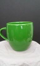 2005 Starbucks Solid Enerald Green 16 fl oz coffee mug No Logo Rare HTF - $15.79