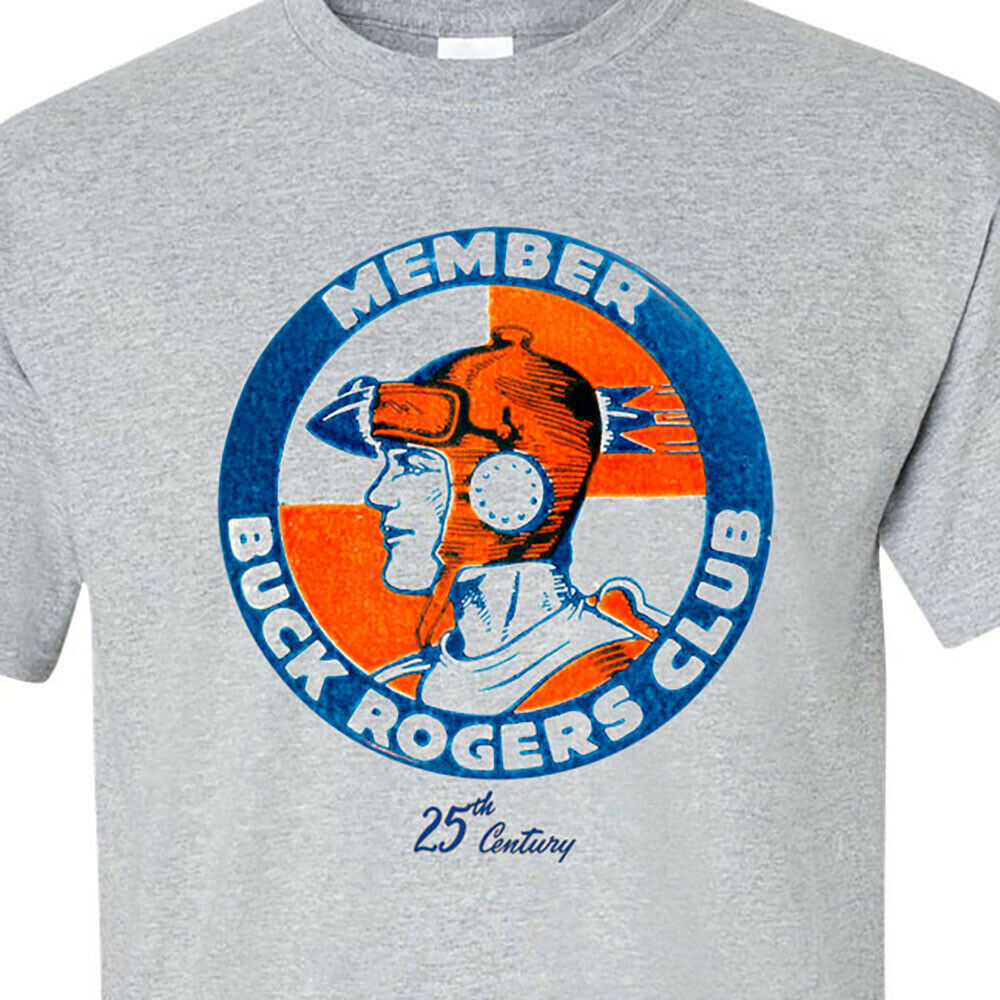 Buck Rogers in the 25th century T-shirt vintage style sci fi comics graphic tee