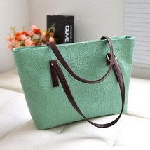Shoulder Bags Leather Shopping Tote Handbags - $26.99