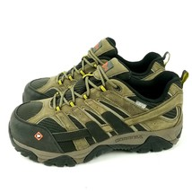 Merrell Moab 2 Vent Mens 8.5 Waterproof Comp Steel Safety Toe Work Shoe ... - $74.44