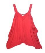 American Rag Women Sleeveless Chili Red Top  Meduim - $53.96