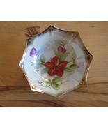 Trimont Ware Japan iridescent lustre ware porcelain bowl gold trim - $25.00
