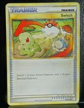 x1 SWITCH - 102/123 Near Mint HeartGold SoulSilver Set Pokemon Card 2010 - $1.99