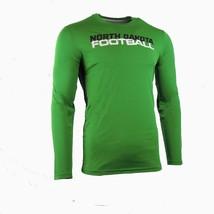 Mens Green Dri-Fit Nike North Dakota Hawks Long Sleeve Tee UND 40% Off MSRP - $35.99
