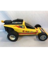 Vintage Dragster Pull Toy Car Mattel 1976 Goodyear Tires - $14.00