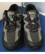 Aetrex Voyager Gey/Purple V753 Women's Diabetic Hiking Shoe Size 5M ~ NWOT - $39.95