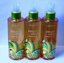 3 Bath & Body Works Peach Citrus Signature Collection Fragrance Mist Lot... - $49.99