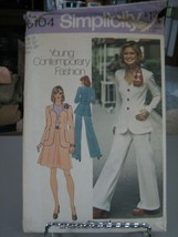 Simplicity 6104 Unlined Jacket, Skirt & Pants Pattern - Size 14 Bust 36 ... - $7.91