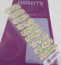 Jamberry Out Of Focus 23K6  Nail Wrap Half Sheet - $9.89