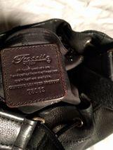 Fossil Genuine Leather Black Shoulder Purse 75082  ZB8023 VINTAGE  image 5