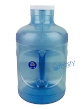 BPA Free 5 Gallon Water Bottle Plastic Container H2O Aqua Jug Canteen Tr... - $25.22