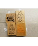 GREAT SELECTION OF WOOD & RUBBER CELEBRATION STAMPS YOU WON'T WANT TO MISS! - $2.95