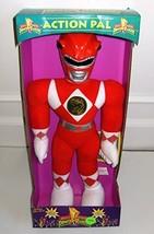 "Power Rangers 18"" Plush Red Ranger Action Pal Figure - $39.99"