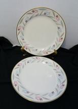 Dinner Plates Nantucket Eggshell Nautilus Homer Laughlin Gold Trim Lot o... - $14.84