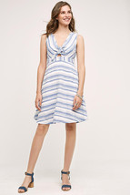 NWT ANTHROPOLOGIE BON VIVANT STRIPED DRESS by MAEVE 4 - $66.49