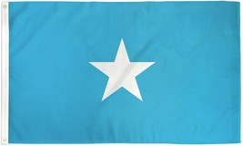 "SOMALIA 3X5' FLAG NEW 36X60"" BIG SOMALIAN BANNER FLAG - $9.85"