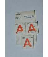 3 New Old Stock Vtg ORIGINAL Bulova Accutron 2210 Part #141 Cell Straps - $18.66