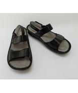 Alegria Shoes Pg Lite Sandals Black 2 Strap VER-211 Size US 8-8.5 / EUR 38 - $94.00