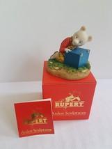 Arden Figure - Rupert Bear With Blue Box - R001 - Boxed - $41.90