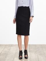 Banana Republic Black Boucle Pencil Skirt, Rayon/Wool, Size 12, NWT - $85.49