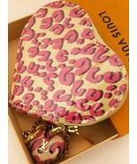 Unused Beauty Louis Vuitton Coin Case Heart Type 2010 Women's Accessorie... - $364.06