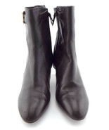 COLE HAAN Size 6.5 Brown Leather Almond Toe Ankle Boots 6 1/2 - $68.00