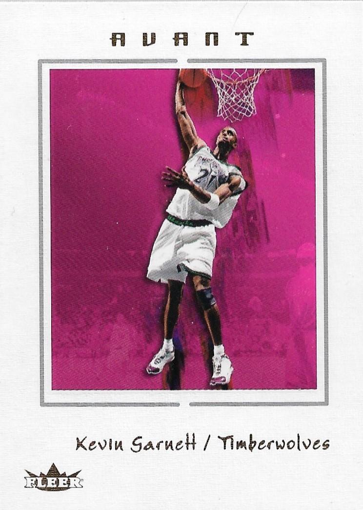 Kevin Garnett Fleer Avant 03-04 #10 Minnesota Timberwolves Boston Celtics Nets