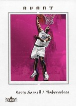 Kevin Garnett Fleer Avant 03-04 #10 Minnesota Timberwolves Boston Celtic... - $0.50