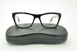 Ray Ban RB 5316 Eyeglasses 2034 Black on Clear 51mm + Case - $70.08