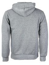 Men's Cotton Blend Zip Up Drawstring Fleece Lined Sport Gym Sweater Hoodie image 7