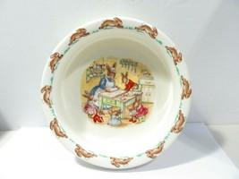 Vintage Royal Doulton Bunnykins Bowl Heavy Porridge Dish Cereal 1936 Bone China - $20.00