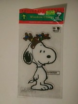 Vintage Window Cling Disney Mickey Mouse Holiday Christmas - $3.93