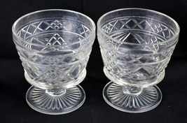 Set of Two Vintage Desert Sundae Cups - $19.75