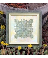 Phlox Box cross stitch chart Ink Circles - $9.00