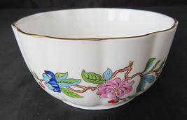 """Aynsley Pembroke Gold Trim Var-i-ete Round 2"""" tall Porcelain Bowl - $30.00"""