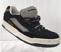 Vans Men's Size 8.5M Skate Shoes Black Suede Sneakers x10 - $18.33