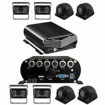 Black Box Dash Cam, 4-8 Cam MDVR System, 1080P, HDD Drive, GPS - $998.17