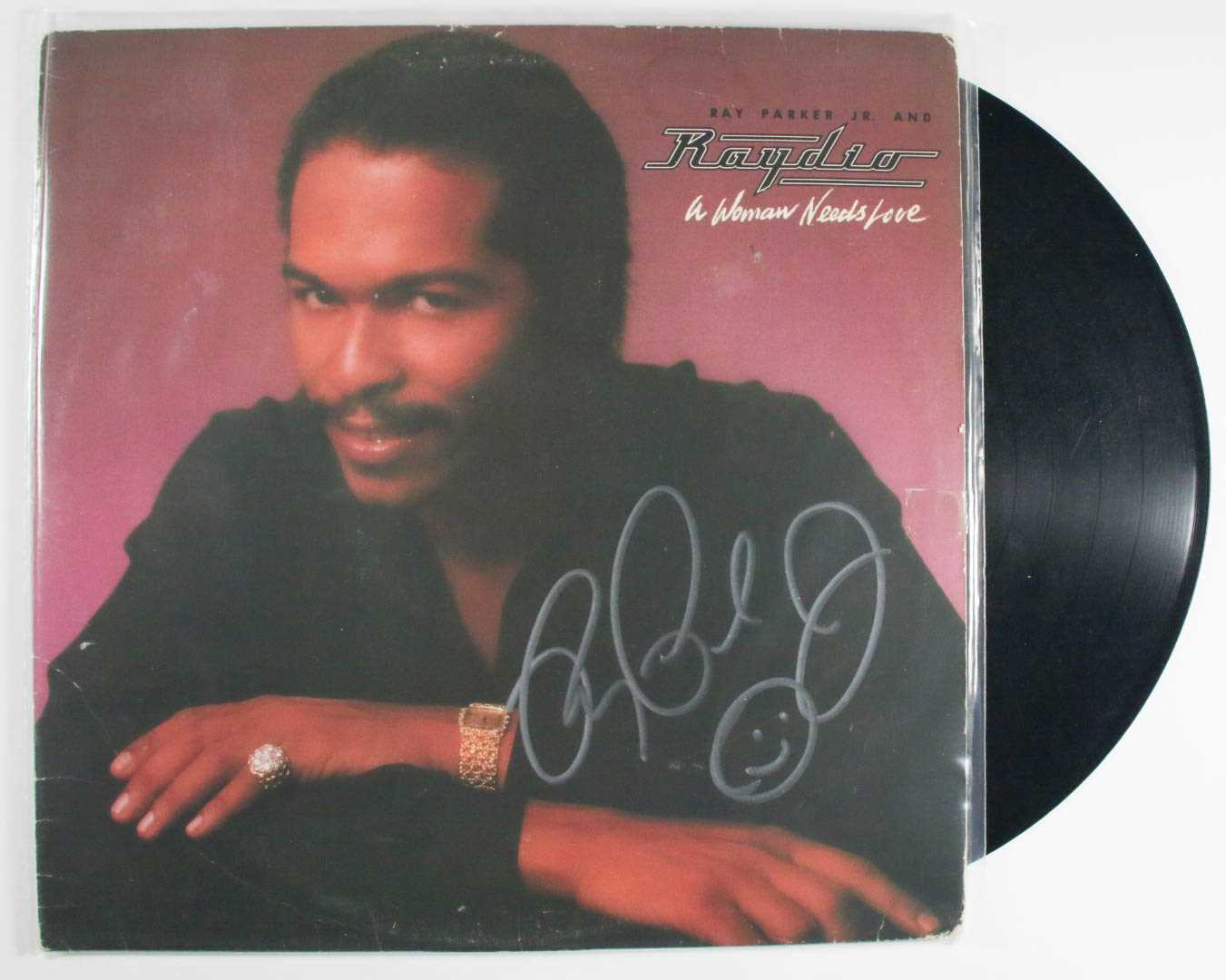 "Primary image for Ray Parker, Jr. Signed Autographed ""Raydio"" Record Album"