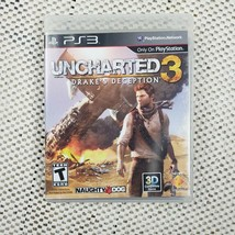 Uncharted 3: Drake's Deception Game Of The Year Edition(PS3) Complete Ve... - $8.99
