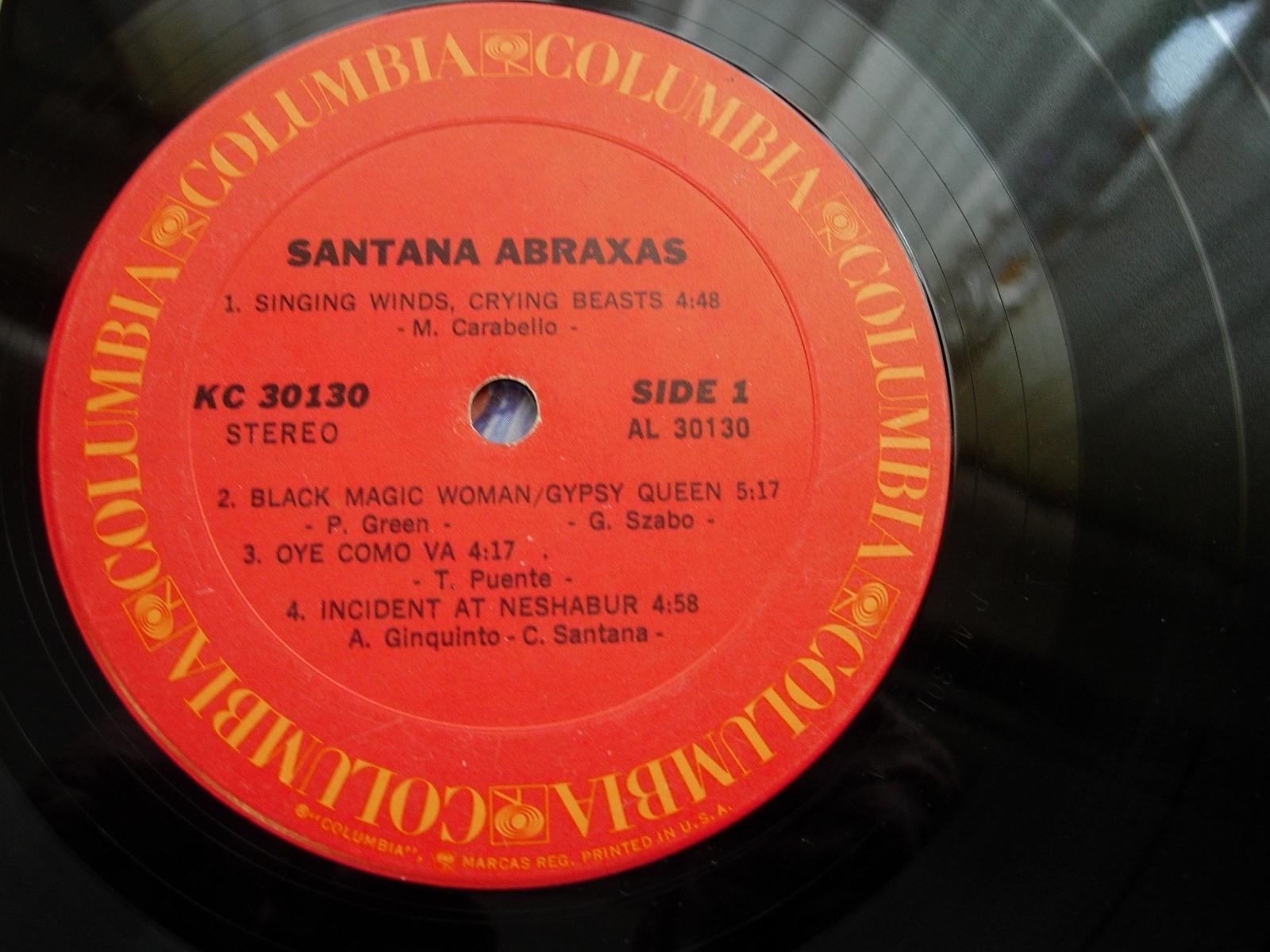 Santana - Abraxas - Columbia KC 30130