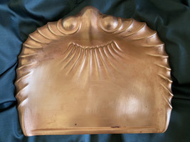 Antique Arts and Crafts Crumb Tray J.SS&S England Solid Copper - $50.00