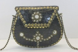 Unbranded Metal Small Vintage Shoulder Purse Crossbody image 1