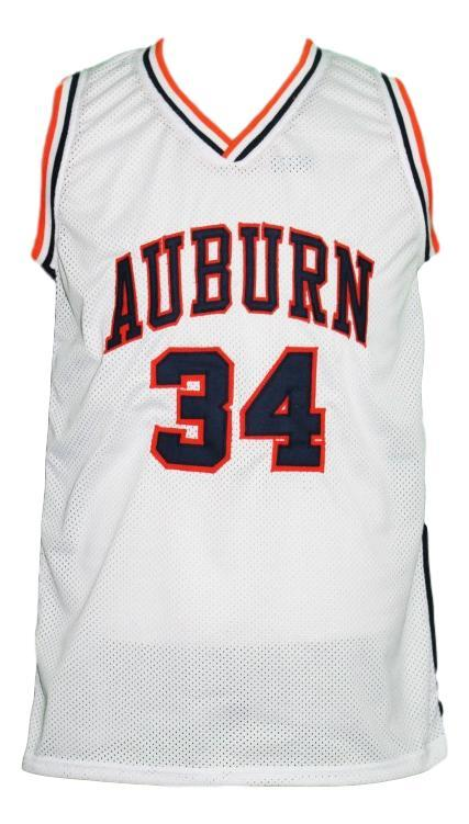 Charles barkley  34 custom college auburn basketball jersey white   1